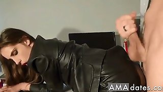 Cum On Leather Butts Mix