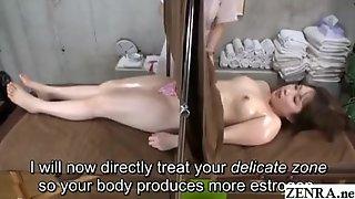 JAV CFNF Lesbian Massage Clinic Cunnilingus Subtitled