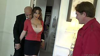 Kinky Husband Allows His Friend To Fuck Busty Whore Wife Alyssa Lynn