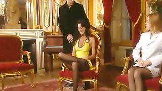 The Compilation Of Retro Sex Videos With Beautiful Chicks In Vintage Lingerie