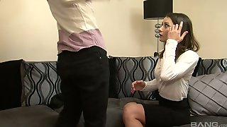 Blind Folded Blowjob By Sweet And Lovely Girlfriend Valentina Bianco