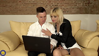 Very free mature mom old sex seduce son simply magnificent