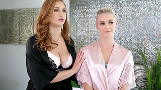 Emma Hix And Her Friend Need Only One Dick To Get Pleased