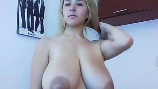 Huge Colombian Tits
