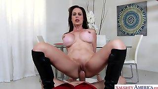 Mckenzie Lee - POV Video With Busty Brunette Mom Pleasing Big Cock