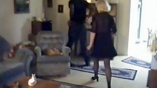 Cuckolds Wife Gets A Dark Black Cock Full Of Juice