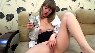 ... Drunk Natali Coming Home And Cuming