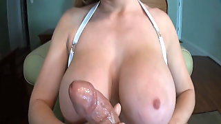 Best Busty POV Handjob Of 2018