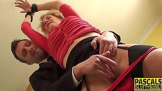 Granny First Bondage Sex