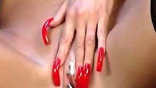 My Sexy Piercings Lori Pleasure Playing W Her Pierced Pussy