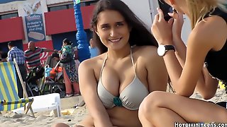 Glorious Swimsuit Ladies Beach Spycam Hd Flick 02 - PornGem