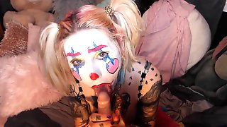 Submissive Teen Clown