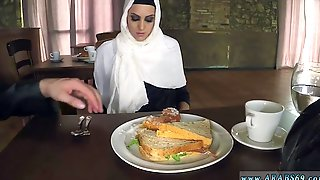 Terrorist Arab Hungry Woman Gets Food And Shag