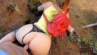 Memorable Outdoor Big Ass Creampie!