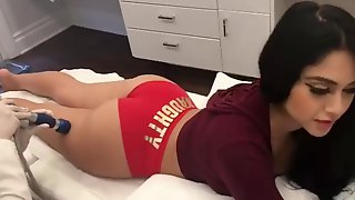Compilation Of Young Chicks Shaking Their Round Booties.