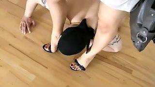 Leyla Shoe And Feet Worship