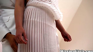 Stainless Mormon Babe Pounded From Behind And Cum Sprayed