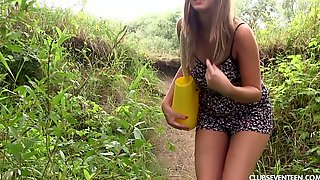 Cute Lesbian Babe Lexi Rain Is Making Love With Lovely Babe By The Lake