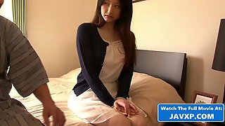 Asian Stepdaughter With Grandpa