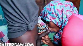 African Meaty Spear Drilling Your Nigerian Yoruba Wifey Ginormous Rump