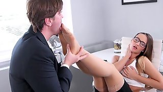 Fantastic Sex At The Office With The New Secretary