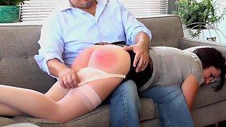 VERONICA: Thumbs spank caned ru