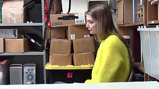 Nadya Is Caught When She Hides Stolen Items Under Her Yellow Sweater