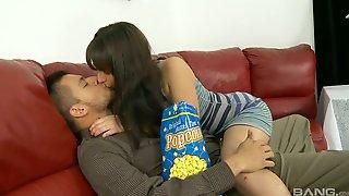 Horny Latin Babe Nina Lopez Is Fucked By Hot Blooded Boyfriend