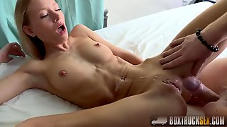 Kiara Lords Giving Sucking Cock To A Model Agent