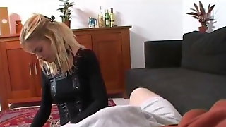 Handjob From Dutch Step Sister