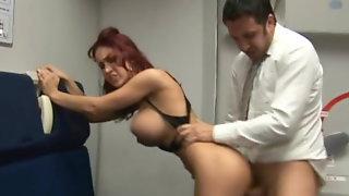 Kylee Strutt Sexy Stewardess