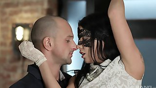 Masked Sofia Like Enjoys Getting Fucked In One On One Action