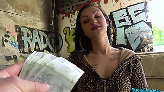 Skank Isabel Dark Gets Paid For Sex