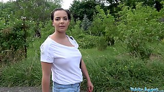Public Agent Hot Tourist Sophia Laure Fucked And Creampied On Picnic Bench