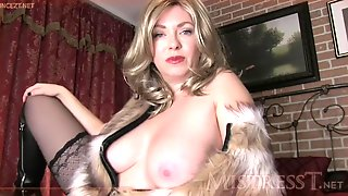 Mature mother dominated fantastic way!