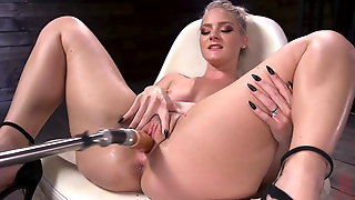 Lisey Sweet Is Fucked Raw By Our Machines!