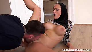 Coition With A Hijab - Blowing Off