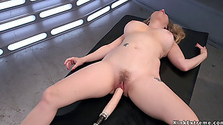 Huge Tits Hairy Milf Bangs Machine