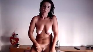 Portugal Wife Mastrubate Standing And Cumming Movie