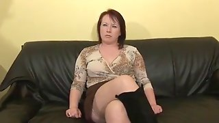 Hot Busty Mature Woman