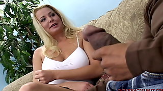 Blonde Wife Cheats For Huge Black Cock Of Blackzilla