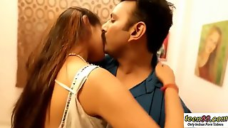 Hot Desi Teen Couple Sex