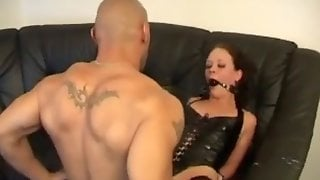 Ballgag anal sodomized consider, that you