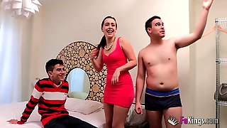 Soraya Loses Her Innocence Surrounded By Cocks - Jordi El Nio Polla