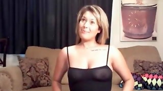My MILF Exposed How Wife In Scrotchless Stockings Pierced