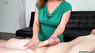Sexy Brunette Handjob