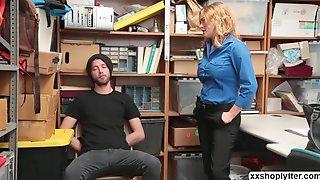 Krissy Lynn  Gets Have Sex By A Shoplifter