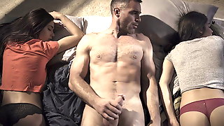Pervert Uncle Strikes Again - Jaye Summers And Emily Willis