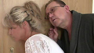 Guy Finds His GF Gets Fucked By Old Parents
