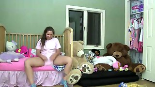 Adriana Dressing Over Messy Diaper